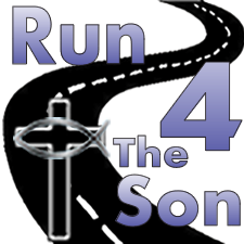 Run 4 The Son Logo